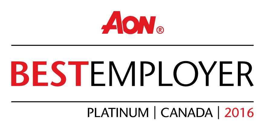 Aon Best Employer in Canada