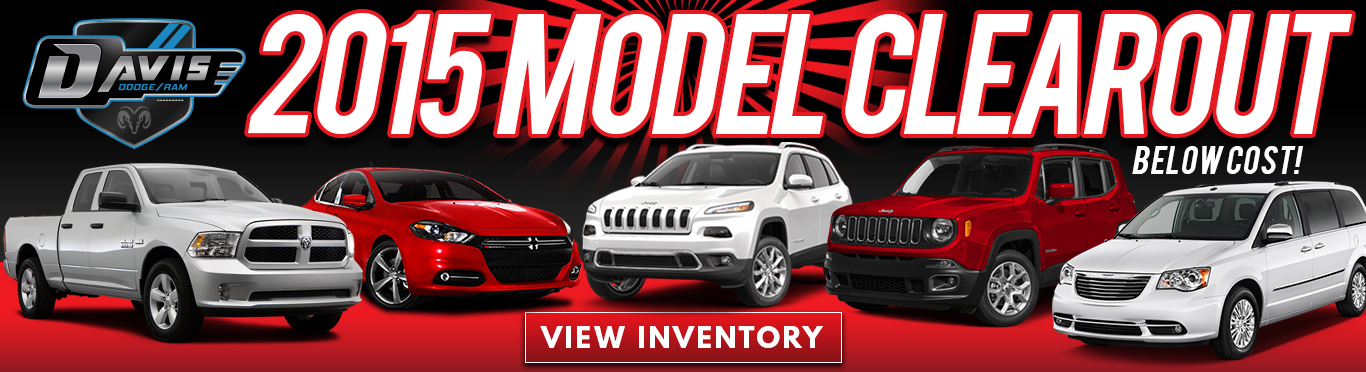 2015 Model Clearout Dodge