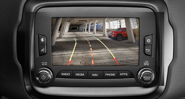 Jeep Renegade Back up Camera