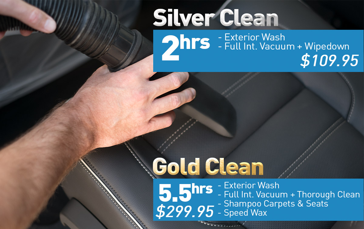 Silver and Gold Clean Detail Specials